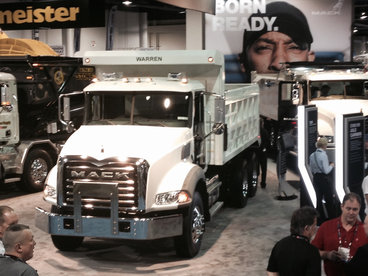 Warren Update from CONEXPO Las Vegas, NV 2014